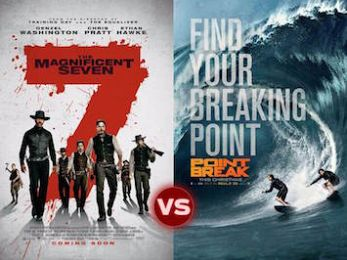 Screen Themes – The Magnificent Seven vs Point Break