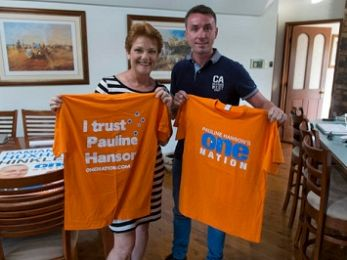 Ashby's grubs and f*ckheads: IA banned from speaking to Hanson's One Nation