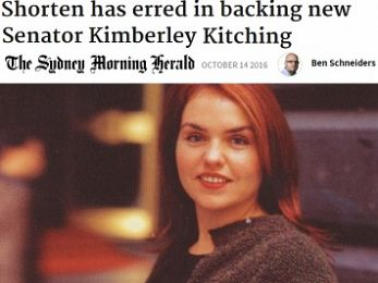 Fairfax attacks Kimberley Kitching to get back at Andrew Landeryou — again