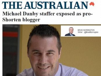 Reply to News Corpse: 'Michael Danby staffer exposed as pro-Shorten blogger'