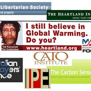 Heartland Institute's Australian climate denialist backers