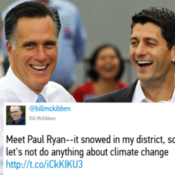 Paul Ryan: the fossil fuel lobby candidate