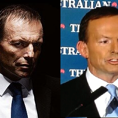 Tony Abbott's makeover