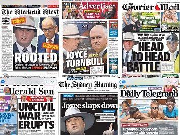 Defiant Joyce calls Turnbull's bluff in #Bonkgate soap opera