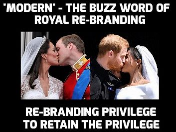 Modern family or royal wedding madness?