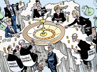 Eurozone profiteers: How German and French banks helped bankrupt Greece