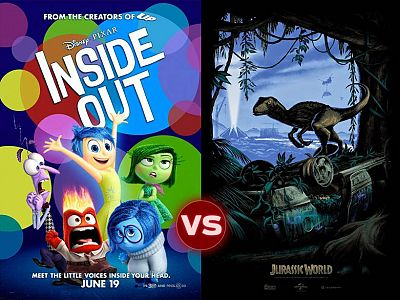Screen Themes – Jurassic World vs Inside Out