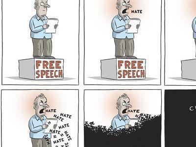 Free speech vs Hateful speech: Striking the right balance