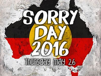 Sorry Day 2016: Saying sorry is nowhere near enough