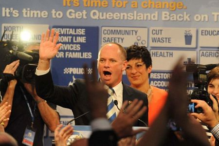 Campbell Newman: cheating to win.