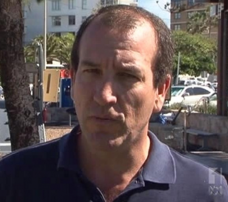 Fisher candidate Mal Brough (image courtesy ABC)