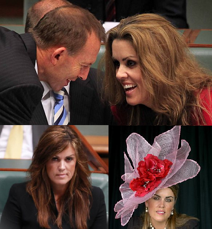 Some of the many faces of Peta Credlin.
