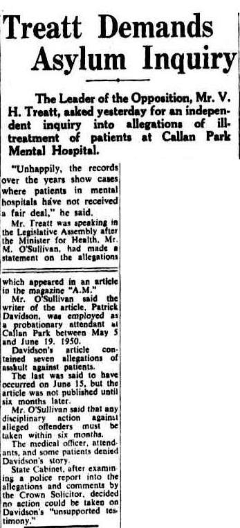 The Sydney Morning Herald, 31 May 1951.