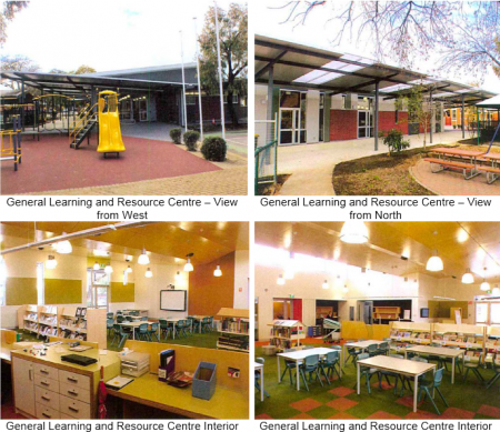 Some of the new facilities at the Trinity Garden Primary School, in the heart of Christopher Pyne''''s own electorate of Sturt.