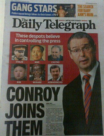 A clear example of right wing bias found in Murdoch newspapers.