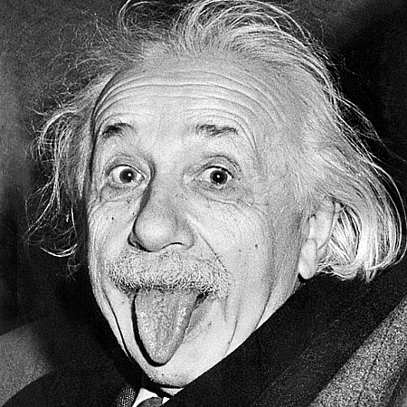 Einstein just did the mathematics behind the physics. Other people decided to use the information to build bombs and poison the planet with radioactive waste. (image courtesy wikipedia.org)