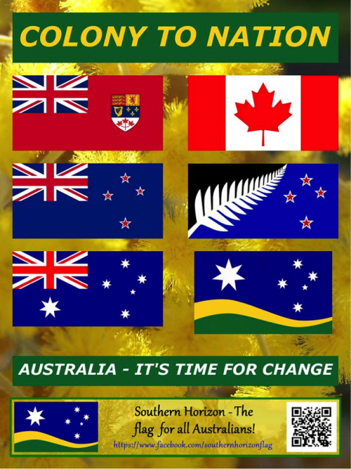 could this be the new australian flag