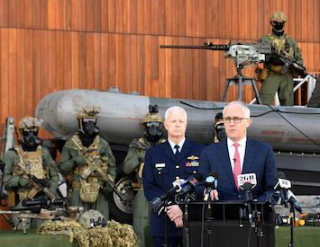 Turnbull's increased 'terror' defence force powers an insidious overreach