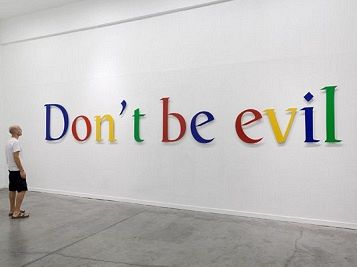 Don't be evil! Google's soft power to regime change