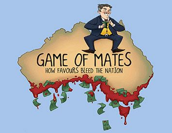 Game of Mates: Exposing the corruption club