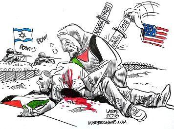 Israel turns 70 as Palestine bleeds and grieves
