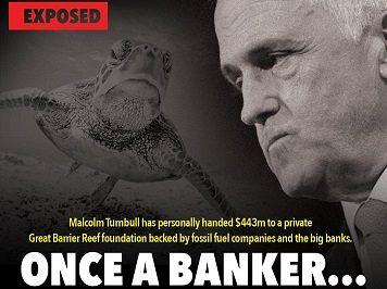 Turnbull, the #Reefgate rort and Rupert