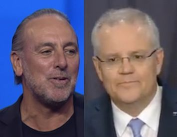 Why is Scott Morrison protecting Hillsong Pastor Brian Houston?
