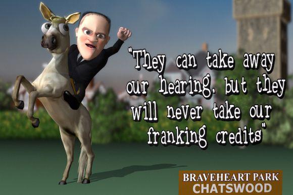 Franking credits: The Coalition's scare campaign