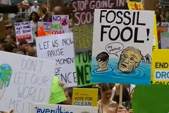 The rise of students against climate change