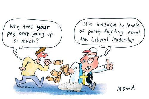 The Coalition: Have a go — pay me as I go