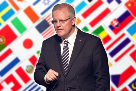 International relations are foreign policy to Scott Morrison