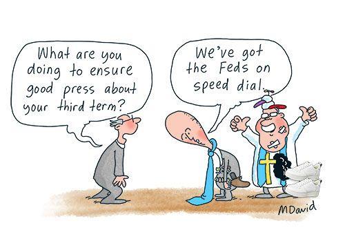 Dutton's dark police state creep