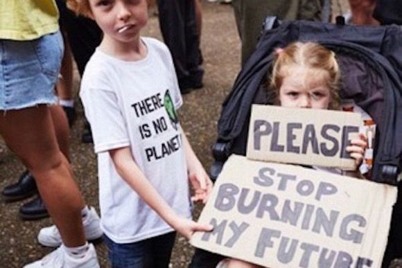 ScoMo's letting 'children be children' only adds to climate change anxiety
