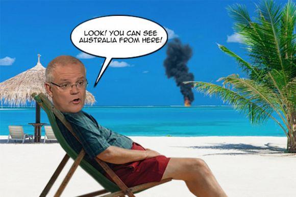 Bushfires and politics: Scene-setters for an Australian Christmas