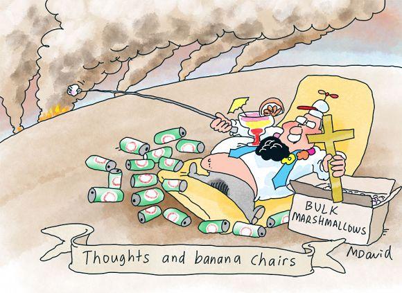 World's media derision for Scott Morrison over bushfire crisis