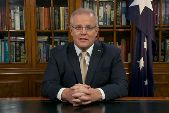 MUNGO MACCALLUM: Scott Morrison appeals to Team Australia
