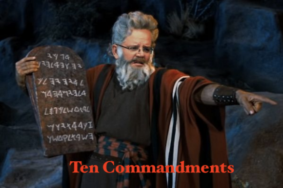 PM ScoMoses' top ten commandments