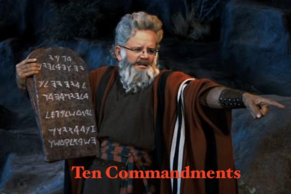 PM ScoMoses' top ten commandments