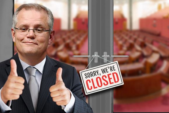 Journalists should question Scott Morrison over Parliament closure
