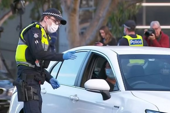 The rise of police power due to COVID-19