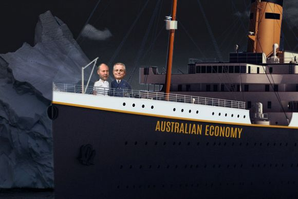 Australia's 'Titanic' economy is sinking