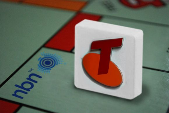 Telstra is going on to take the NBN monopoly