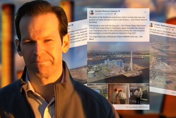 Matt Canavan's anti-solar posts rely on his version of the truth