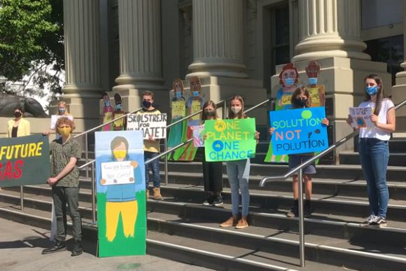 Students should hold the Government to account over climate inaction
