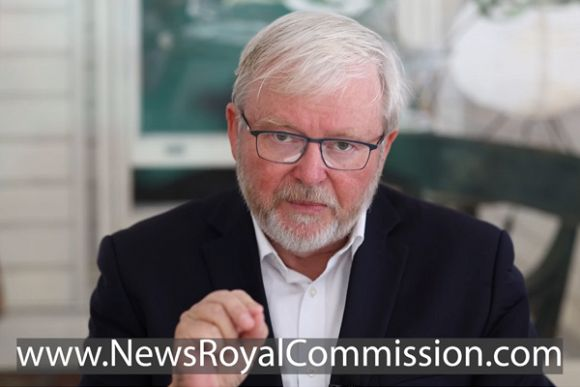 Kevin Rudd launches petition for media diversity