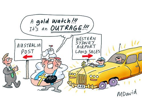 Scott Morrison's gold standard ICAC distractions