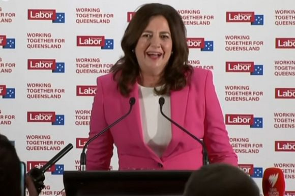 Labor wins in Queensland, voters playing it safe on virus