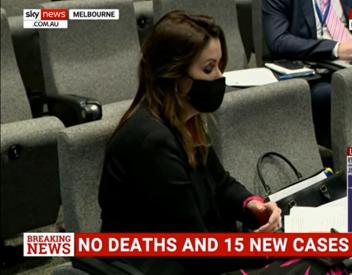 Peta Credlin displays her credentials as an 'investigative journalist'