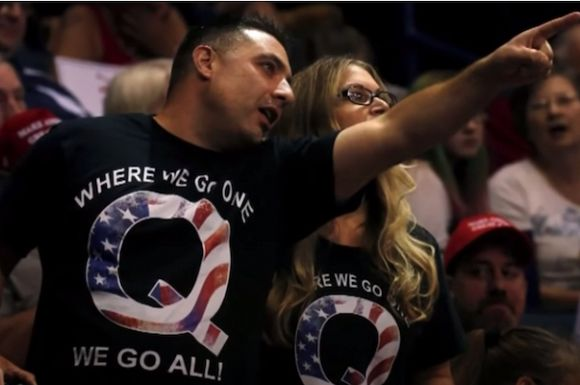 Trump-centric conspiracy theory QAnon lives on