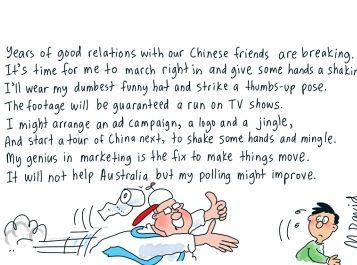 MUNGO MACCALLUM: China, China, CHINA!